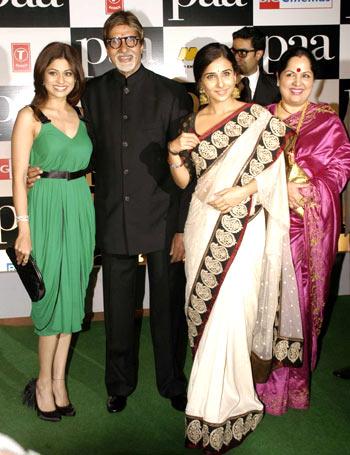 Shamita Shetty, Amitabh and Vidya