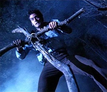 A scene from Evil Dead 2