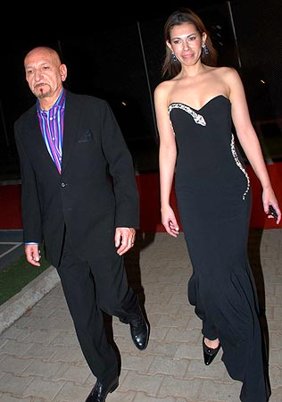 Sir Ben Kingsley and Daniela
