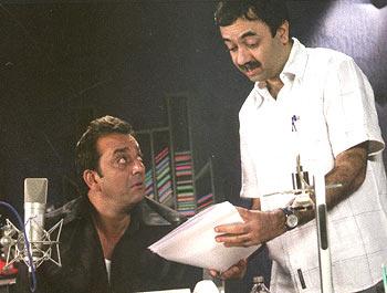 Sanjay Dutt and Rajkumar Hirani
