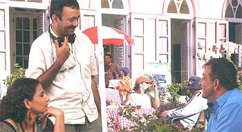 Vidya Balan, Rajkumar Hirani and Sanjay Dutt