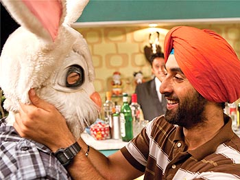 A scene from Rocket Singh