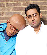 Amitabh and Abhishek Bachchan in Paa