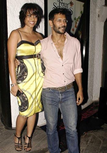 Shahana Goswami and Milind Soman