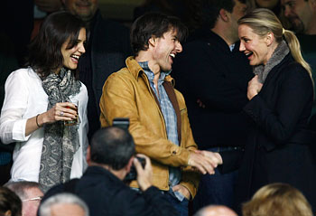 Katie Holmes, Tom Cruise and Cameron Diaz