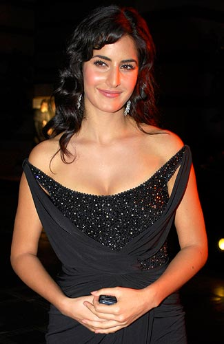 bollywood hots up lingerie show   rediff   movies