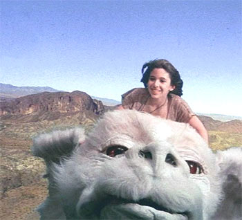 A scene from The NeverEnding Story