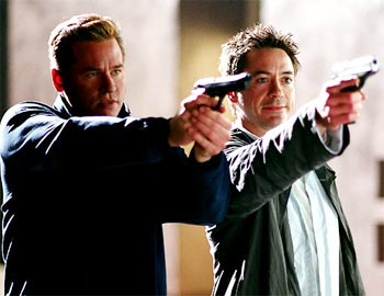 A scene from Kiss Kiss Bang Bang