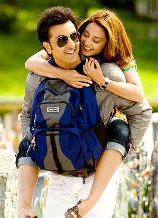 Ranbir Kapoor and Minissha Lamba in Bachna Ae Haseeno