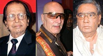 Shakti Samanta, Feroz Khan, Prakash Mehra