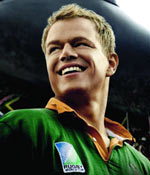 Matt Damon in Invictus