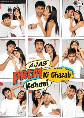 A poster of Ajab Prem Ki Ghazab Kahani