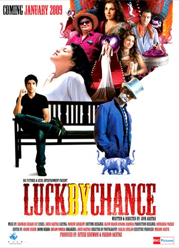 A poster of Luck By Chance