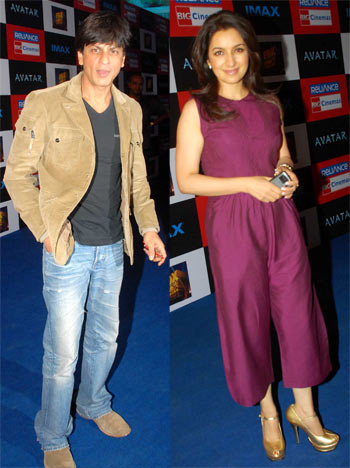Shah Rukh Khan and Tisca Chopra