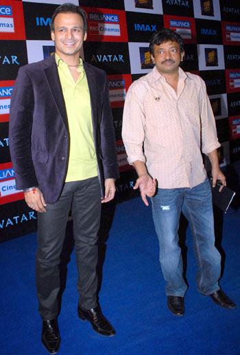 Vivek Oberoi and Ram Gopal Verma