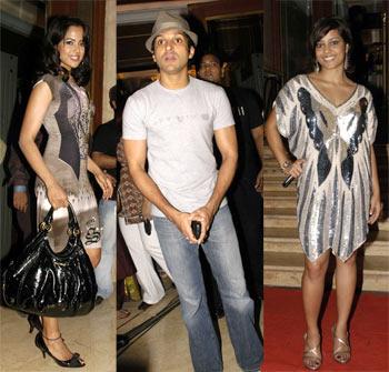 Sameera Reddy, Farhan Akhtar and Shahana Goswami