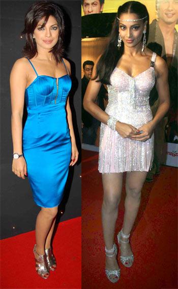 Priyanka Chopra and Bipasha Basu
