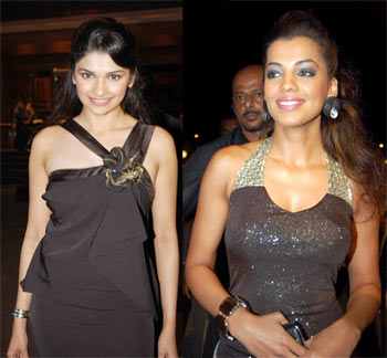 Prachi Desai and Mugdha Godse