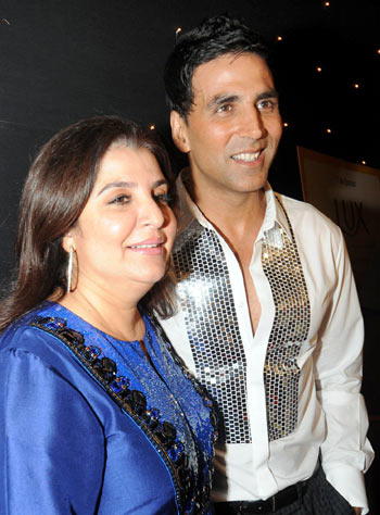 Farah Khan and Askhay Kumar