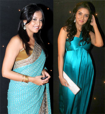Tanushree Dutta and Asin