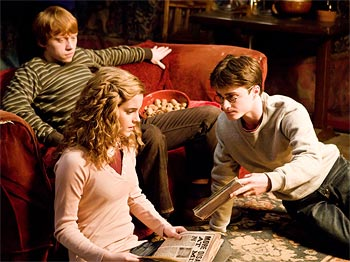 A scene from Harry Potter And The Half Blood Prince