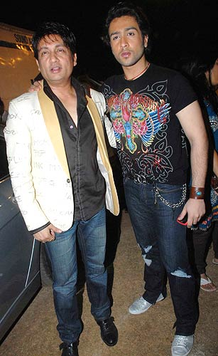 Shekhar Suman with son Adhyayan