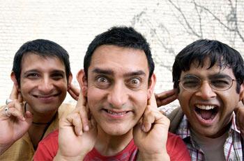 A still from 3 Idiots