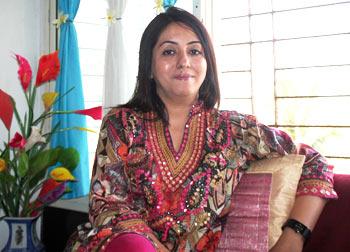 Anju Kishanchandani, Raju's sister