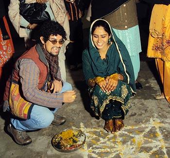 Aamir Khan in Faridkot, Punjab