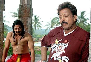 A scene from Aptharakshaka