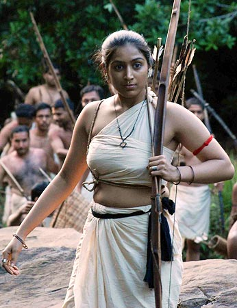 A scene from Pazhassi Raja
