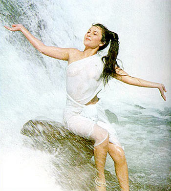 A scene from Ram Teri Ganga Maili