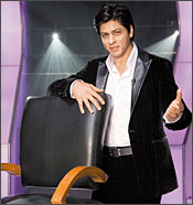 Shah Rukh Khan in an episode from KBC3