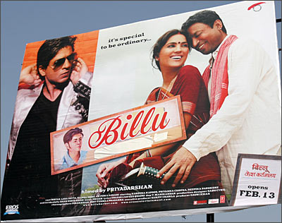 SRK collides with Billu Barber