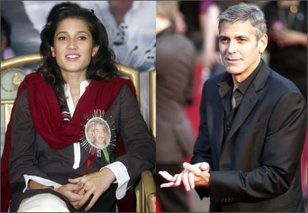 Fatima bhutto dating george clooney