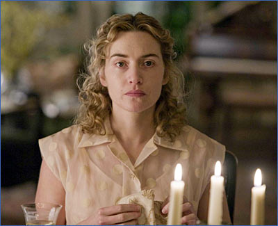 Kate Winslet in a scene from The Reader