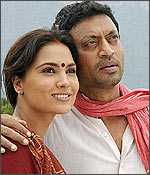 Lara Dutta and Irrfan Khan
