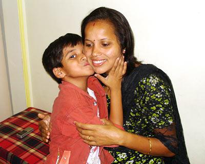 Ayush Mahesh Khedekar from Slumdog Millionaire