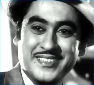 Kishore Kumar in a scene from New Delhi