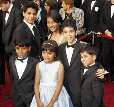 Kids at Oscars