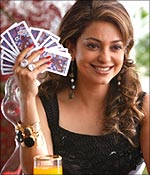 Juhi in a scene from Luck By Chance