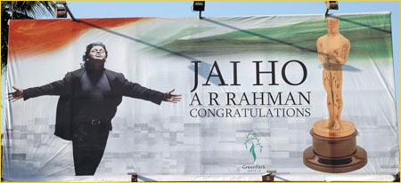 Chennai salutes A R Rahman