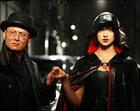 Gordon Liu and Deepika Padukone