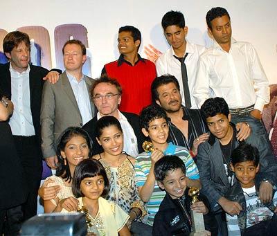 The Slumdog team