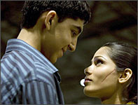 A scene from Slumdog Millionaire