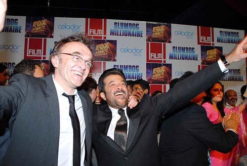 Danny Boyle and Anil Kapoor