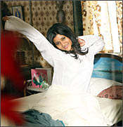 Konkona Sen Sharma in a scene from Luck By Chance