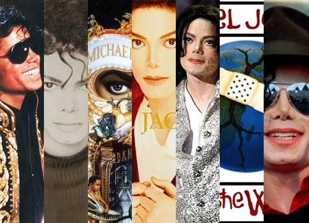 Michael Jackson, a collage