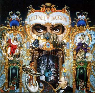 An album cover of Dangerous