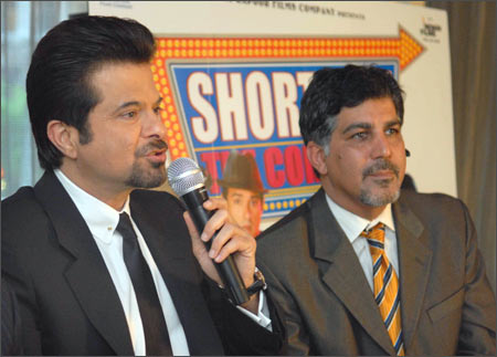Anil Kapoor and Behram Shahparast